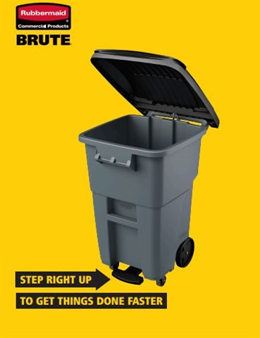 Brute Rollout Garbage Cans | by Rubbermaid