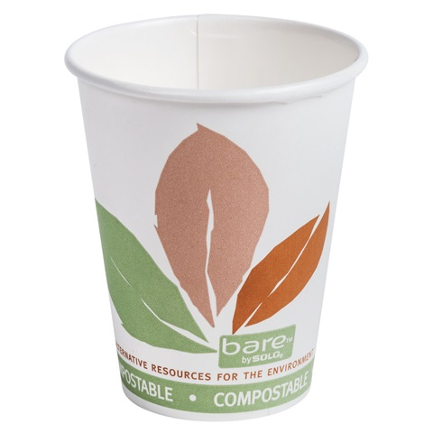 Solo Bare Recycled Content Hot & Cold Cups