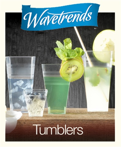 Disposable Square Tumblers | by Wavetrends