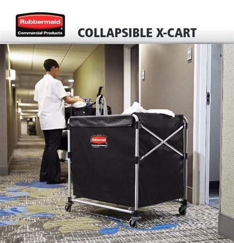 Collapsible X-Cart | by Rubbermaid